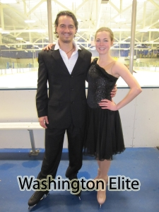 Courtney Duckworth, Bruce Porter Jr University of Delaware test (Washington Elite Ice Skating School in DC)